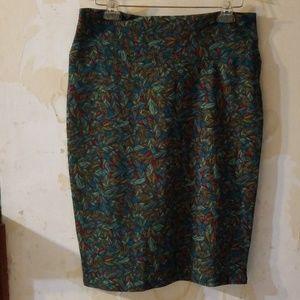 LuLaRoe stretch pencil skirt